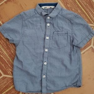 Toddler H&M button up Sz 2-3 Y